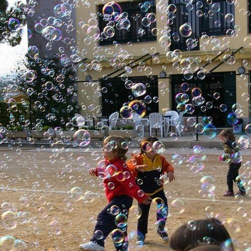 Mașină baloane de săpun